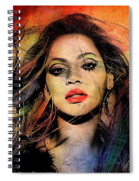 Beyonce Spiral Notebook