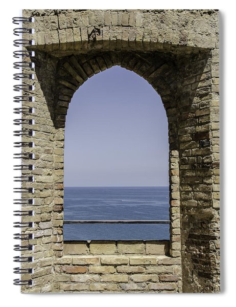 Beyond The Gate Of Infinity Spiral Notebook