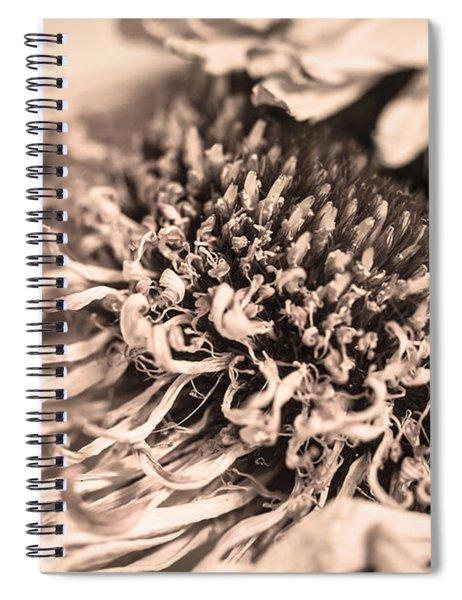 Beyond The Pedals Spiral Notebook