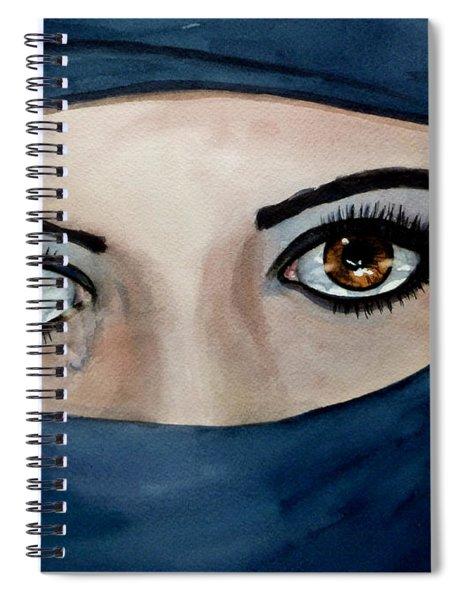 Beyond The Veil Spiral Notebook