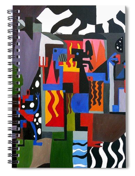 Bicloptochotik Spiral Notebook