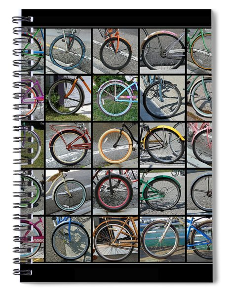 Bicycles Spiral Notebook