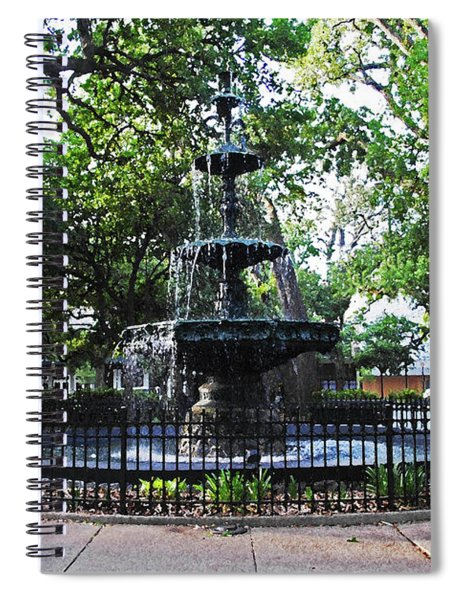 Bienville Fountain Mobile Alabama Spiral Notebook
