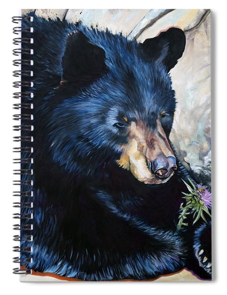 Big B And Little Bee Spiral Notebook