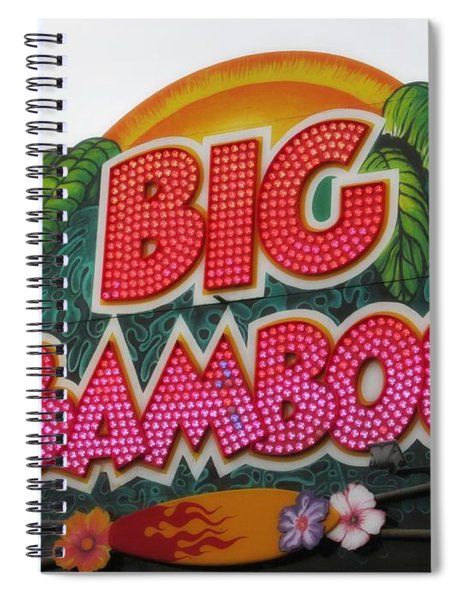 Big Bamboo Spiral Notebook