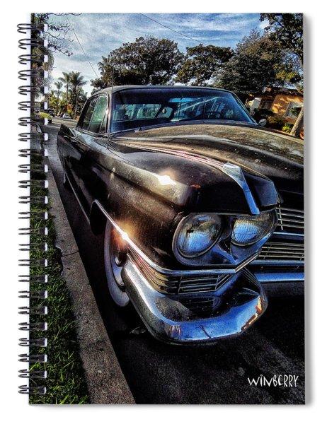 Big Black Car Spiral Notebook