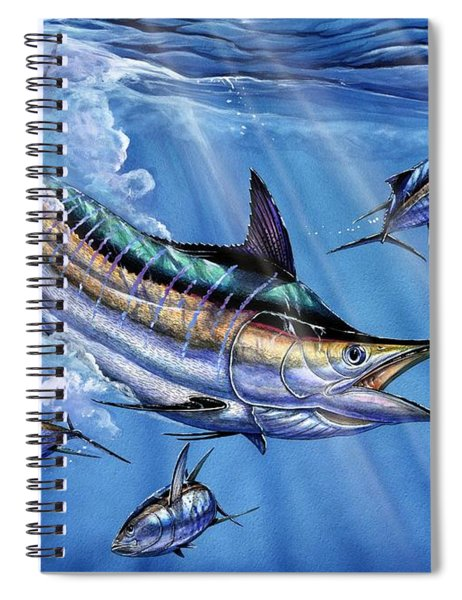 Big Blue And Tuna Spiral Notebook