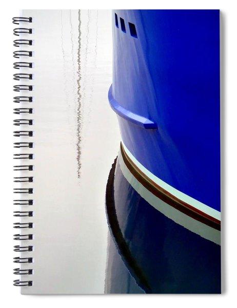 Big Blue Spiral Notebook