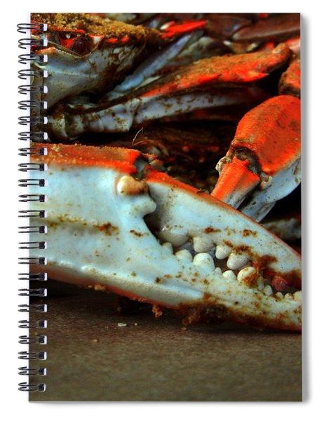 Big Crab Claw Spiral Notebook