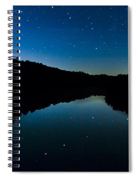 Big Dipper Reflection Spiral Notebook