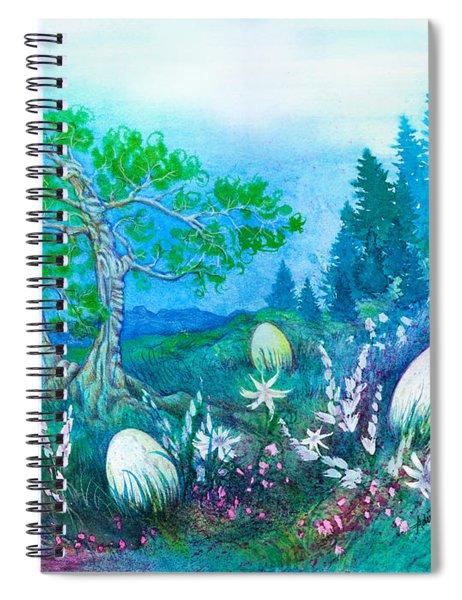 Big Nest Spiral Notebook