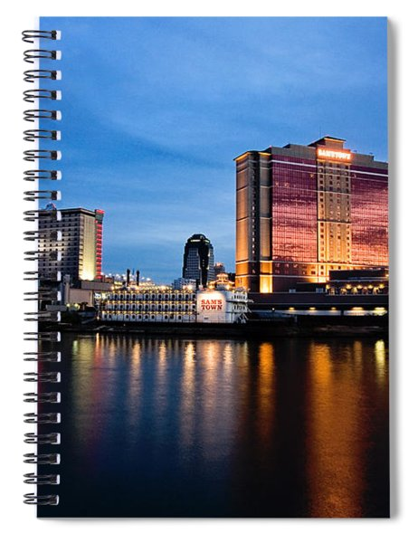 Big Night On The River Spiral Notebook