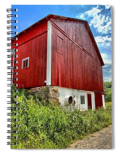 Big Red Barn Spiral Notebook