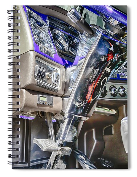 Big Rig Interior Spiral Notebook