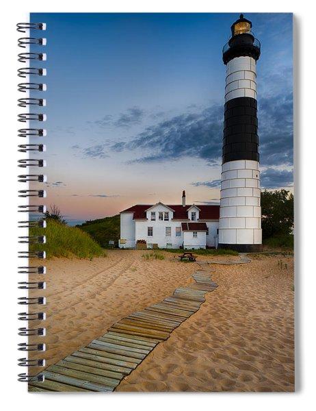 Big Sable Point Lighthouse Spiral Notebook