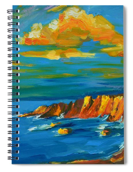 Big Sur At The West Coast Of California Spiral Notebook