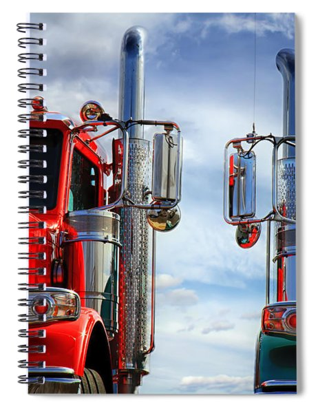 Big Trucks Spiral Notebook