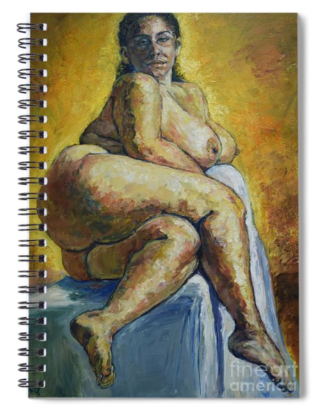 Big Woman Spiral Notebook