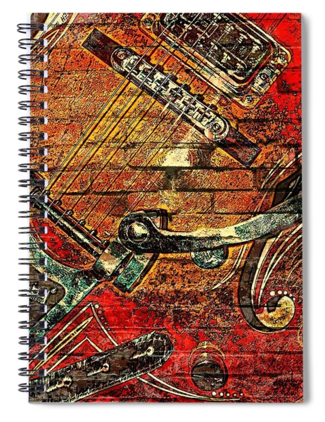 Bigsby Faux Mural Spiral Notebook