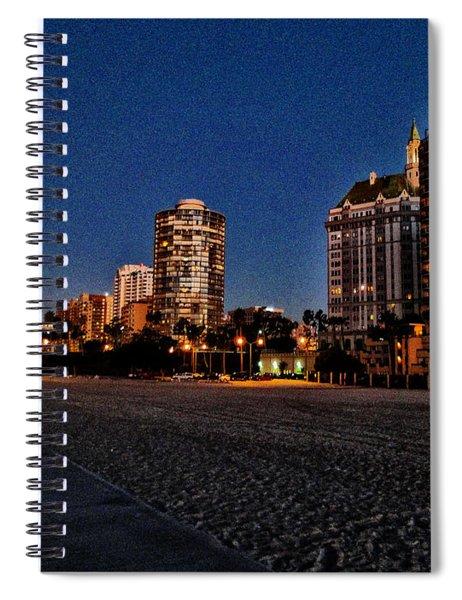 Bike Path Spiral Notebook