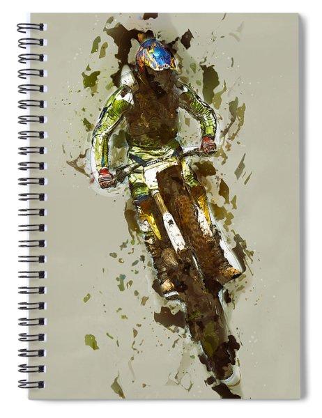 Biker Spiral Notebook