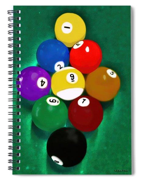 Billiards Art - Your Break 1 Spiral Notebook