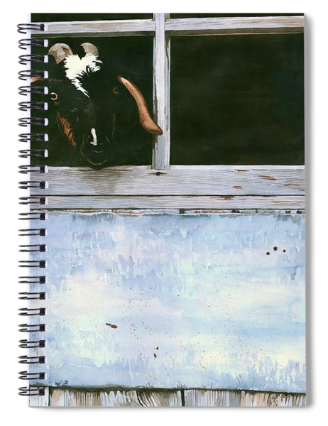 Bill's Goat Spiral Notebook