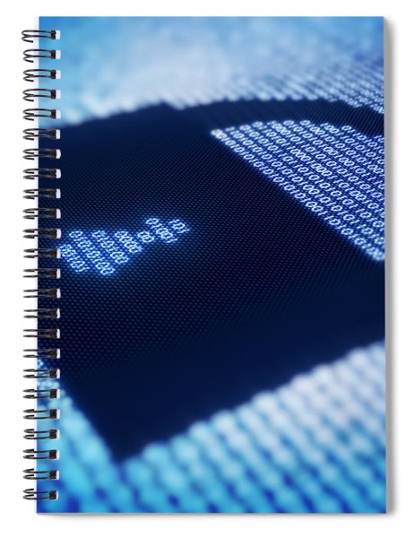 Electronic Data Security Spiral Notebook
