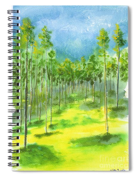 Birch Glen Spiral Notebook
