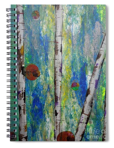 Birch - Lt. Green 4 Spiral Notebook