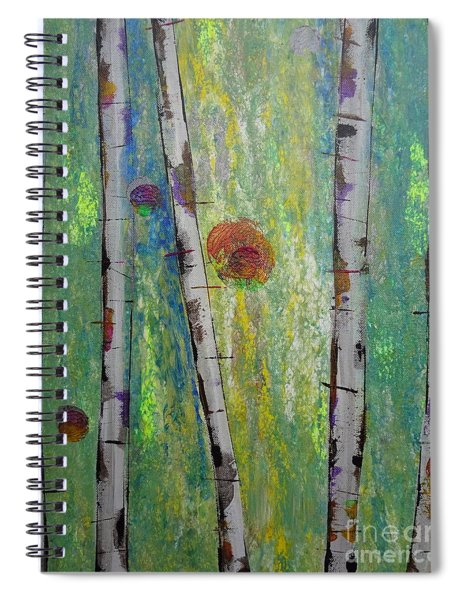 Birch - Lt. Green 5 Spiral Notebook