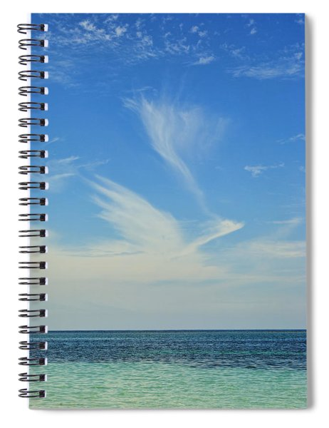 Bird Cloud Spiral Notebook