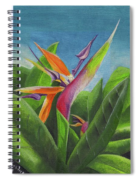 Hawaiian Bird Of Paradise Spiral Notebook