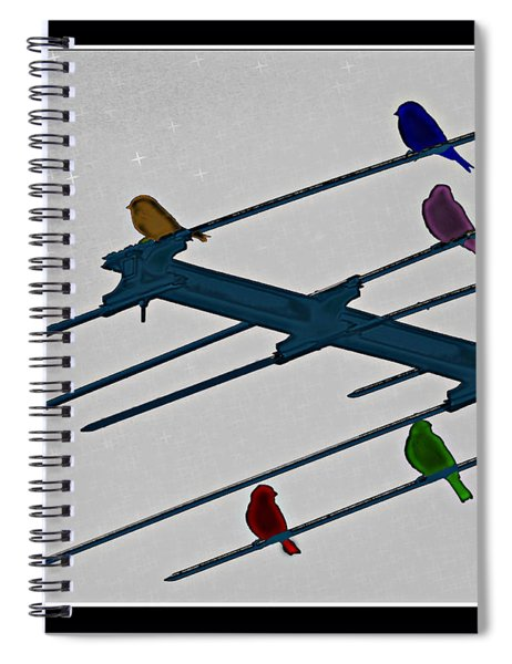 Bird Reception Spiral Notebook