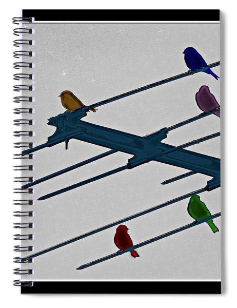 Bird Reception Spiral Notebook