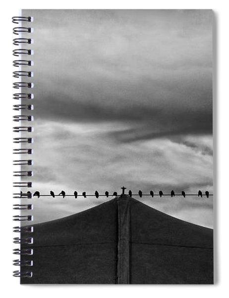 Birds Spiral Notebook