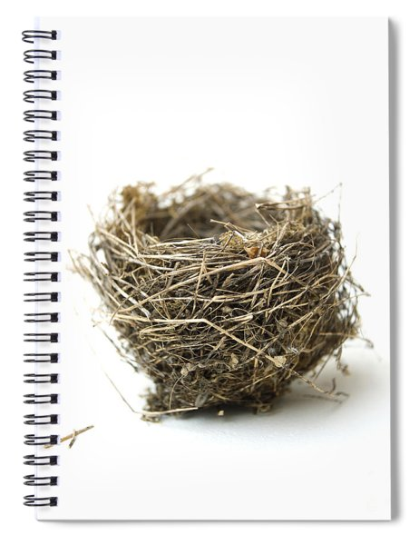 Bird's Nest Spiral Notebook