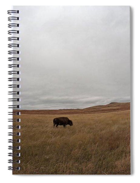 Bison, South Dakota Spiral Notebook