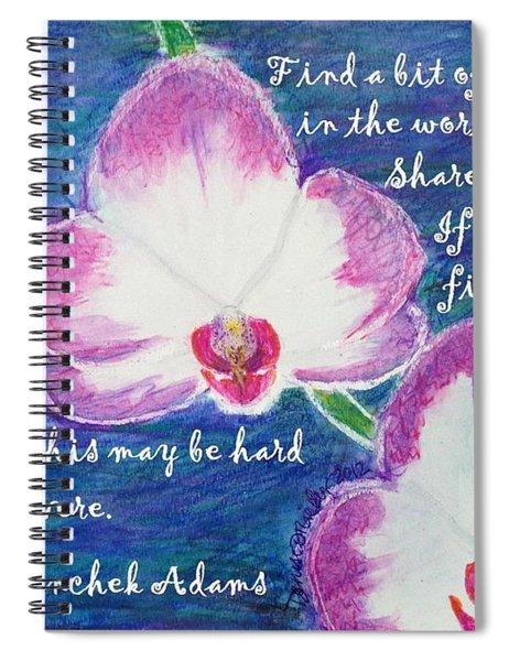 Bit Of Beauty For Lisa Spiral Notebook