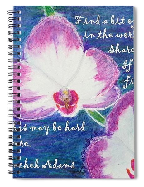 Bit Of Beauty For Lisa Spiral Notebook