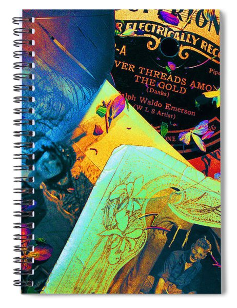 Bits And Pieces... Spiral Notebook