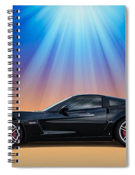 Black C6 Spiral Notebook