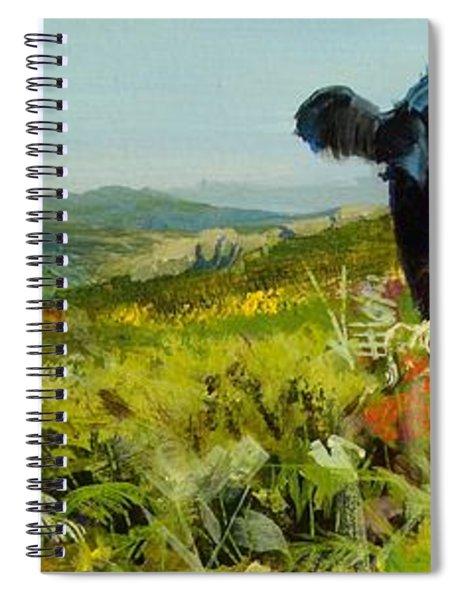 Black Cow Dartmoor Spiral Notebook