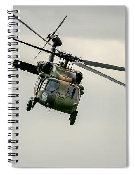 Black Hawk Swoops Spiral Notebook