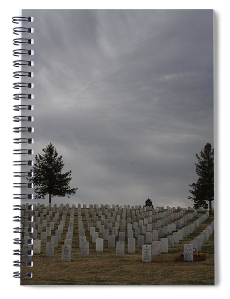 Black Hills Cemetery Spiral Notebook