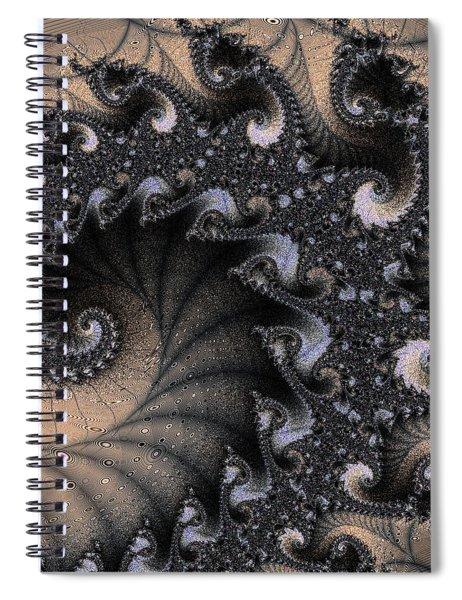 Black Sand Trap Spiral Notebook
