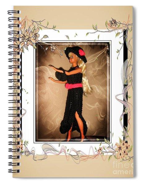 Black Tie Affair - Fashion Doll - Girls - Collection Spiral Notebook