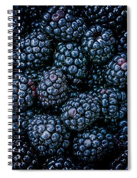 Blackberries Spiral Notebook