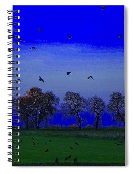 Blackbird Singing... Spiral Notebook