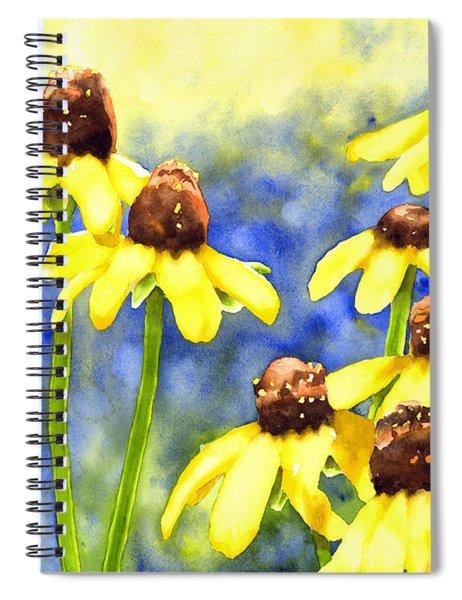 Blackeyed Beauties Spiral Notebook